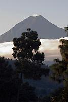 Vulkan Agua in Guatemala