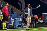 22nd September 2021: RCDE Stadium, Barcelona, Spain: La Liga Football, Espanyol versus Atletico Madrid;  Calleja Alaves coach