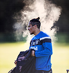 Bruno Alves working extra hard and pumping out steam