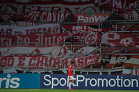 10th February 2021; Beira-Rio Stadium, Porto Alegre, Brazil; Brazilian Serie A, Internacional versus Sport Recife; Uendel of Internacional leaves the pitch after receiving the red card and being sent off