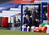 12th September 2020; Selhurst Park, London, England; English Premier League Football, Crystal Palace versus Southampton; Crystal Palace Manager Roy Hodgson looks on from the dugout