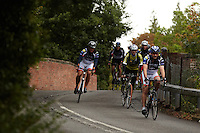 Adventure Cafe Guided ride , Sunningdale , Berkshire , September 2011 pic copyright Steve Behr / Stockfile