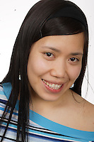 Model Released photos <br /> of Filipina woman in Montreal, Canada.<br /> Photo : Pierre Roussel -  Images Distribution