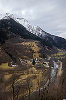Val Calanca, Grisons, Parc Naturel Val Calanca