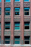 Louis Sullivan: Wainwright Bldg., St. Louis. Detail.  Photo '88.