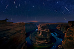 Pictured: The Milky Way at Horseshoe Bend, Arizona<br /> <br /> This beautiful series of photographs shows the Milky Way as seen from different continents around the world.   Photographer Hua Zhu travelled the globe over the course of four years to capture the starry night sky from already stunning locations. <br /> <br /> The medical professor visited picturesque landmarks in the USA, Kenya, New Zealand and China, including the Great Wall in Beijing.  Chinese Dr Zhu, who lives in New Jersey, USA, said he meticulously planned the trips by researching when the Milky Way would be on show.   SEE OUR COPY FOR DETAILS<br /> <br /> Please byline: Hua Zhu/Solent News<br /> <br /> © Hua Zhu/Solent News & Photo Agency<br /> UK +44 (0) 2380 458800