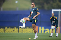 11th November 2020; Granja Comary, Teresopolis, Rio de Janeiro, Brazil; Qatar 2022 qualifiers; Diego Carlos of Brazil during training session in Granja Comary