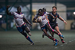 Kir Club Pyrenees vs GoCloudWifi East Africans during their Pool D match as part of the GFI HKFC Rugby Tens 2017 on 05 April 2017 in Hong Kong Football Club, Hong Kong, China. Photo by Juan Manuel Serrano / Power Sport Images