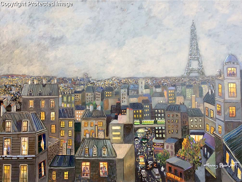 Early Evening in Paris<br />