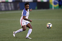 Seattle, WA - Thursday July 27, 2017: Taylor Smith during a 2017 Tournament of Nations match between the women's national teams of the United States (USA) and Australia (AUS) at CenturyLink Field.