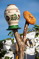 Harvest decorations at the Hungarian Regional Gastronomic Festival 2009 - Gyor ( Gy?r ) Hungary