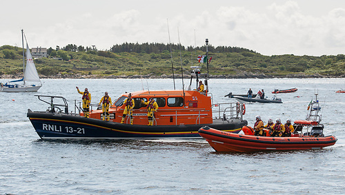 File image of Clifden RNLI's all-weather and inshore lifeboats
