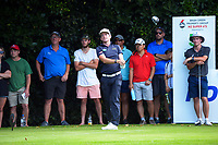 Josh Geary and Kerry Mountcastle contest the final. Day four of the Brian Green Property Group NZ Super 6s Manawatu at Manawatu Golf Club in Palmerston North, New Zealand on Sunday, 28 February 2021. Photo: Dave Lintott / lintottphoto.co.nz