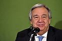 UN secretary-general attends conference at Japan National Press Club