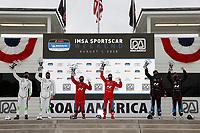 #29 Bryan Herta Autosport w/ Curb Agajanian Hyundai Veloster N TCR, TCR: Parker Chase, Spencer Brockman, #33 Bryan Herta Autosport w/ Curb Agajanian Hyundai Veloster N TCR, TCR: Gabby Chaves, Ryan Norman, #21 Bryan Herta Autosport w/ Curb Agajanian Hyundai Veloster N TCR, TCR: Mark Wilkins, Harry Gottsacker, podium