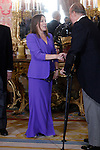 attends the reception of the diplomatic corps in Spain at Palacio Real. January 23, 2013. (ALTERPHOTOS/Caro Marin)