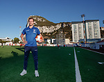 08.07.2019: Rangers press conference, Gibraltar: Andy Halliday