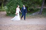 Josh & Lauren Carlton walk at the Temecula Creek Inn
