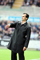 Pictured: Roberto Martínez Manager of Swansea City<br /> Re: Coca Cola Championship, Swansea City Football Club v Southampton at the Liberty Stadium, Swansea, south Wales 25 October 2008.<br /> Picture by Dimitrios Legakis Photography, Swansea, 07815441513