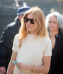 David Frost Memorial Service at Westminster Abbey<br /> <br /> Sienna Miller<br /> <br /> <br /> <br /> <br /> Pic by Gavin Rodgers/Pixel 8000 Ltd