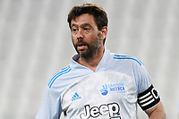 Andrea Agnelli during the charity football hearth match between Singers national Team and Champions for the medical research at Juventus Stadium in Torino (Italy), May 25th, 2021. Photo Daniele Buffa / Image Sport / Insidefoto
