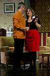 """07.05.2012. Go Figure """"The Order"""" at the Teatro Häagen-Dazs Calderon sitcom written and directed by Luis Rodriguez Juan. In the picture: Jose Tejado and Esther Fernandez  (Alterphotos/Marta Gonzalez)"""