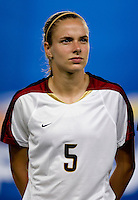 Lindsay Tarpley. The US lost to Norway, 2-0, during first round play at the 2008 Beijing Olympics in Qinhuangdao, China.