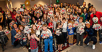 Tuesday  15 December 2015<br /> Pictured: <br /> Re: Kids SCFC Christmas Party at the Liberty Stadium, Swansea