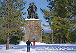 Donner Memorial State Park, Pioneer Monument
