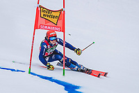 28th December 2020; Semmering, Austria; FIS Womens Giant Slalom World Cu Skiing;  Federica Brignone of Italy in action during her 1st run of women Giant Slalom of FIS ski alpine world cup at the Panoramapiste in Semmering