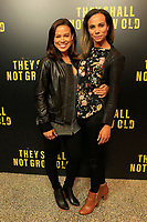 """LOS ANGELES - DEC 7:  Toni Trucks, Ione Butler at the """"They Shall Not Grow Old"""" Premiere at the Linwood Dunn Theater at the Pickford Center for Motion Study on December 7, 2018 in Los Angeles, CA"""