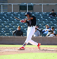 Nathanael Otano participates in the MLB International Showcase at Salt River Fields on November 12-14, 2019 in Scottsdale, Arizona (Bill Mitchell)