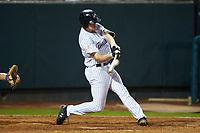 Jake Pries (36) of the Pulaski Yankees at bat against the Burlington Royals at Calfee Park on September 1, 2019 in Pulaski, Virginia. The Royals defeated the Yankees 5-4 in 17 innings. (Brian Westerholt/Four Seam Images)
