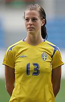 MAR 15, 2006: Faro, Portugal:  Lotta Schelin