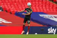 Michael Harriman of Northampton Town during the Sky Bet League 2 PLAY-OFF Final match between Exeter City and Northampton Town at Wembley Stadium, London, England on 29 June 2020. Photo by Andy Rowland.