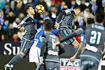 Celta de Vigo's Hugo Mallo (l) and Pedro Pablo Hernandez during La Liga match. January 28,2017. (ALTERPHOTOS/Acero)