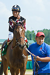 19 June 2010:  . Shared Account and Edgar Prado win the All Along Stakes (III) at Colonial Downs in New Kent, Va. Shared Account is owned by Sagamore Farm, trained by H. Graham Motion