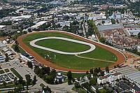 aerial photograph racetrack Lexington Kentucky