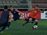 Alex Shinsky and Carlos Martinez. U.S. Under-17 Men Training in Kano, Nigeria.