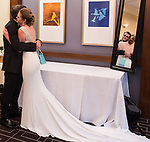 Greenwich Hyatt<br /> Bride and Groom Getting Ready<br /> Lauren and Ted's Wedding