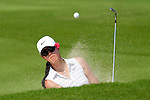 CHON BURI, THAILAND - FEBRUARY 19:  Michelle Wie of USA plays a bunker shot on the 12th hole during day three of the LPGA Thailand at Siam Country Club on February 19, 2011 in Chon Buri, Thailand. Photo by Victor Fraile / The Power of Sport Images