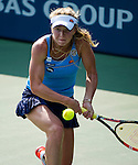 Elina Svitolina (UKR) during her semifinal match against Angelique Kerber (GER) at the Bank of the West Classic in Stanford, CA on August 8, 2015. Kerber defeated Svitolina by 63 61 to advance to Sunday's final.