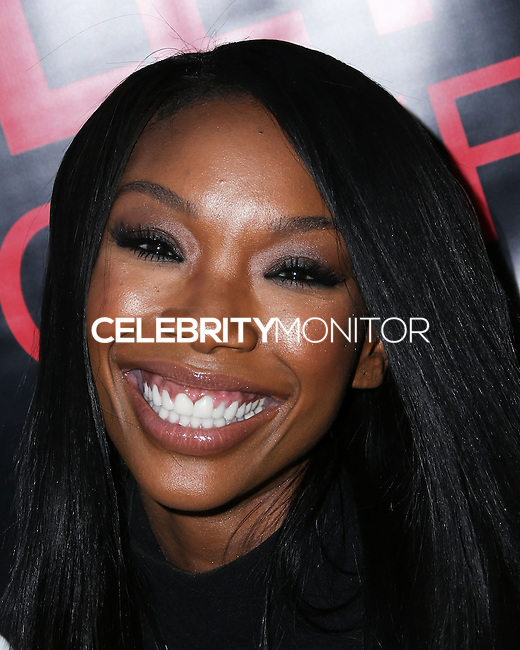 HOLLYWOOD, LOS ANGELES, CA, USA - SEPTEMBER 02: Singer Brandy Norwood arrives at The Hollywood Confidential Open Forum 'Staying Power: Building Legacy & Longevity in Hollywood' Event held at the Montalban Theatre on September 2, 2014 in Hollywood, Los Angeles, California, United States. (Photo by Xavier Collin/Celebrity Monitor)
