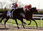 03 April 2010.  Evening Jewel and Kent Desormeaux win the Central Bank Ashland stakes at Keeneland racecourse.