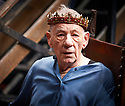 Hamlet by William Shakespeare, directed by Sean Mathias. Set designed by Lee Newby, Costume Designed by Loren Elstein, Lighting designed by Zoe Spurr.  With Ian McKellen as Hamlet. Opens at The Theatre Royal Windsor on 21/7/21 pic Geraint Lewis