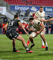 2nd January 2021   Ulster vs Munster <br /> <br /> David McCann during the PRO14 Round 10 clash between Ulster Rugby and Munster Rugby at the Kingspan Stadium, Ravenhill Park, Belfast, Northern Ireland. Photo by John Dickson/Dicksondigital