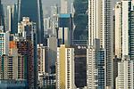 Skyscrapers, Ancon Hill, Panama City, Panama