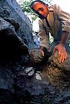 Olmec; El Manati; 3000 years old; Mexico; Rubber ball; Jade axes; Ponciano Ortiz