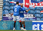 02.05.2021 Rangers v Celtic: Kemar Roofe celebrates
