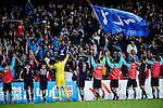 FC Kitchee Team celebrating after win Hanoi FC during the AFC Champions League 2017 Preliminary Stage match between  Kitchee SC (HKG) vs Hanoi FC (VIE) at the Hong Kong Stadium on 25 January 2017 in Hong Kong, Hong Kong. Photo by Marcio Rodrigo Machado/Power Sport Images